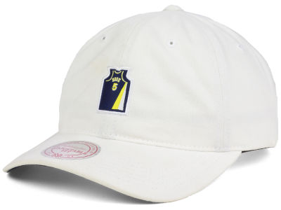 Indiana Pacers Jalen Rose Mitchell & Ness NBA Deez Jersey Dad Hats