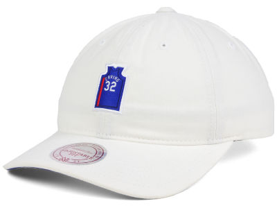 New Jersey Nets Julius Erving Mitchell & Ness NBA Deez Jersey Dad Hats