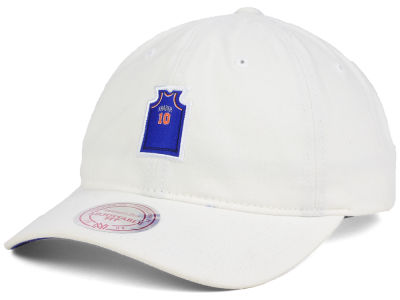 New York Knicks Walt Frazier Mitchell & Ness NBA Deez Jersey Dad Hats