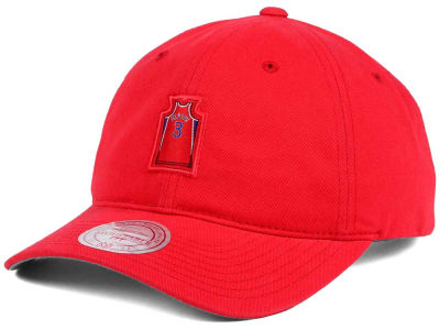 Philadelphia 76ers Allen Iverson Mitchell and Ness Deez Jersey Dad Hats