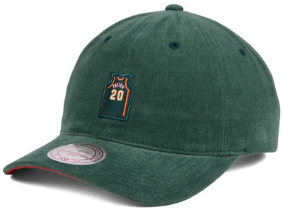 Seattle SuperSonics Gary Payton Mitchell & Ness NBA Deez Jersey Dad Hats