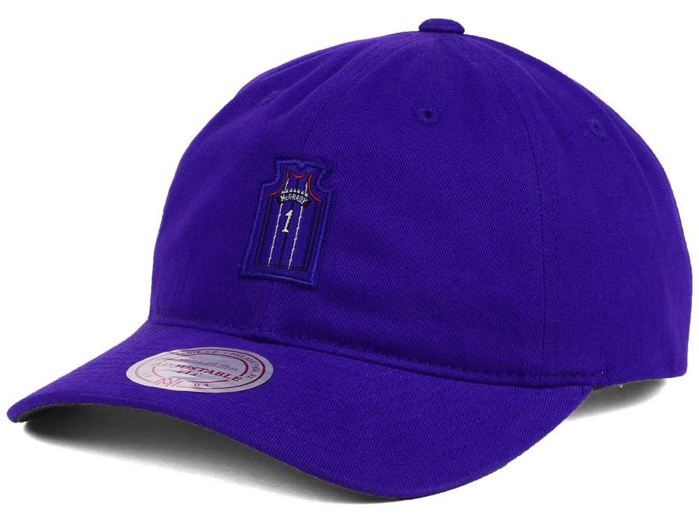 Toronto Raptors Tracy McGrady Mitchell   Ness NBA Deez Jersey Dad Hats  7b481e2eec2c