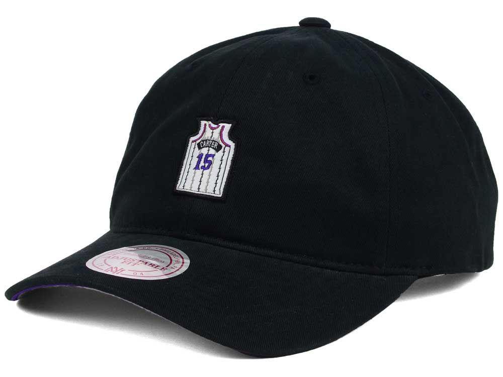 Toronto Raptors Vince Carter Mitchell   Ness NBA Deez Jersey Dad Hats  6f445a07989