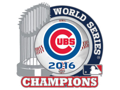 Chicago Cubs Event Trophy Pin