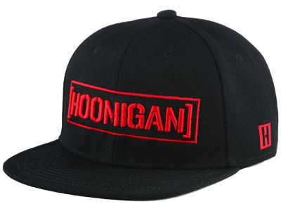 Hoonigan Black Widow Snapback Cap