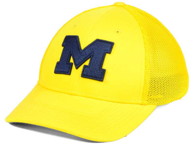 Michigan Wolverines Nike NCAA L91 Mesh Swoosh Flex Cap