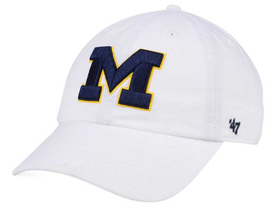 new style 9af26 85edf Michigan Wolverines  47 NCAA  47 CLEAN UP Cap