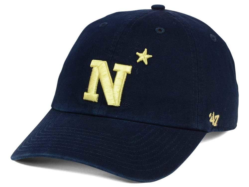 Navy Midshipmen  47 NCAA  47 CLEAN UP Cap  4ed74d5af