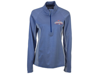 Chicago Cubs Antigua MLB Women's Promenade World Series Champ Pullover