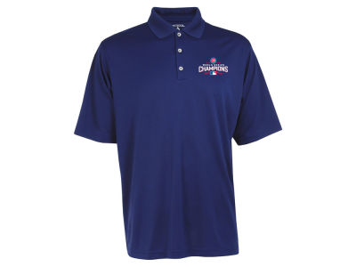 Chicago Cubs Antigua MLB Men's 2016 World Series Champ Exceed Polo Shirt