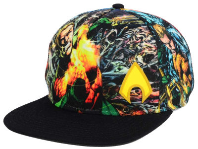 DC Comics Aquaman Sublimated Snapback Cap