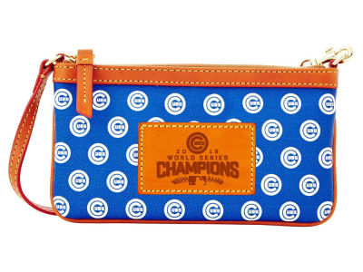 Chicago Cubs Dooney & Bourke 2016 World Series Champ Large Wristlet