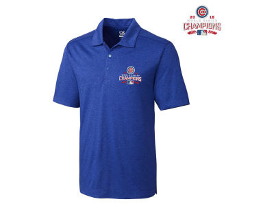 Chicago Cubs MLB 2016 Men's World Series Champ DryTec Polo