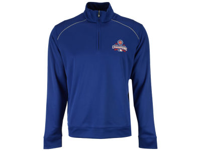 Chicago Cubs MLB Men's 2016 World Series Champ Ridge Half Zip Pullover Shirt