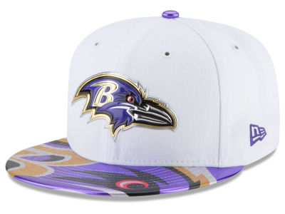 Baltimore Ravens New Era 2017 NFL Draft 59FIFTY Cap