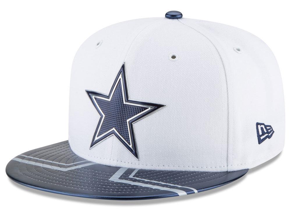 f3d3d7aaae8 Dallas Cowboys New Era 2017 NFL Draft 59FIFTY Cap