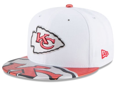 Kansas City Chiefs New Era 2017 NFL Draft 59FIFTY Cap