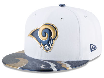 Los Angeles Rams New Era 2017 NFL Draft 59FIFTY Cap