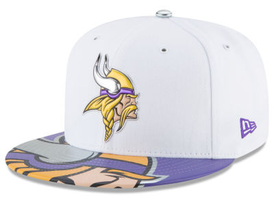 Minnesota Vikings New Era 2017 NFL Draft 59FIFTY Cap