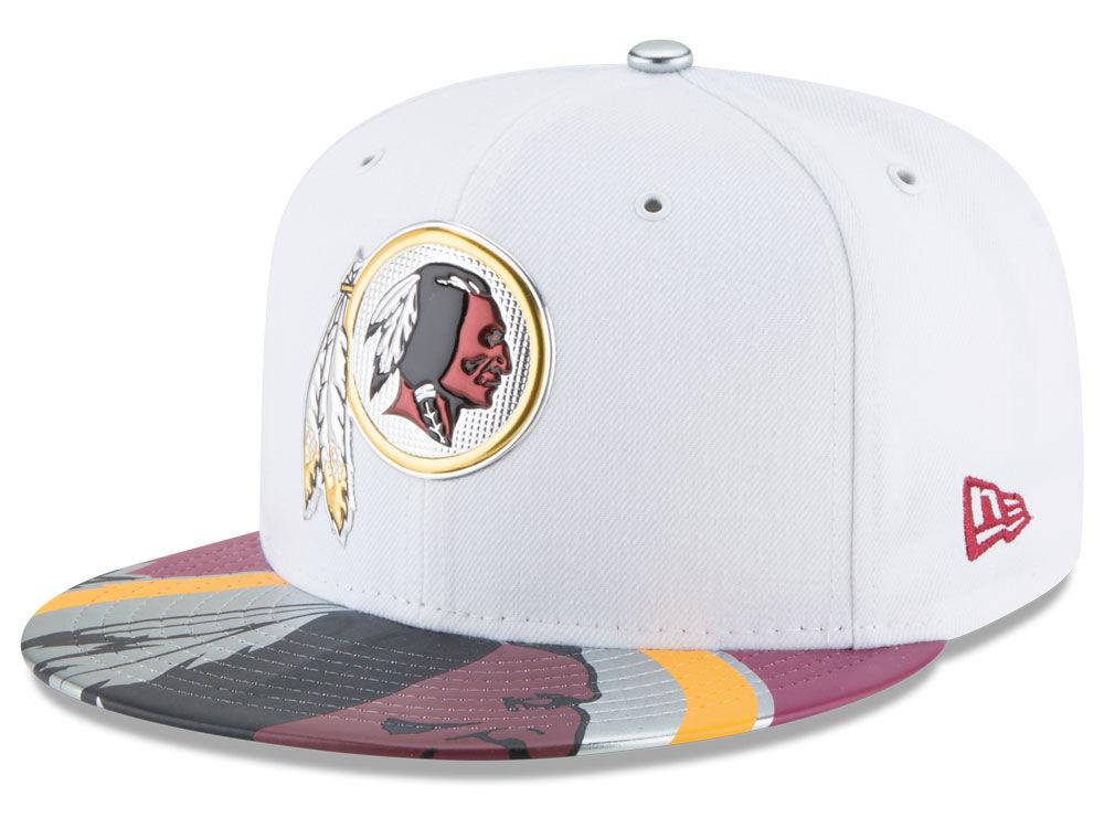 Washington Redskins New Era 2017 NFL Draft 59FIFTY Cap  0af558758