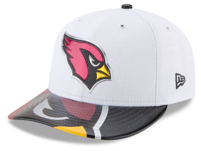 Arizona Cardinals New Era 2017 NFL Low Profile Draft 59FIFTY Cap