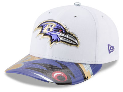 Baltimore Ravens New Era 2017 NFL Low Profile Draft 59FIFTY Cap