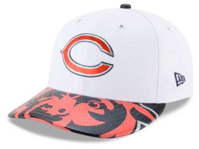 Chicago Bears New Era 2017 NFL Low Profile Draft 59FIFTY Cap