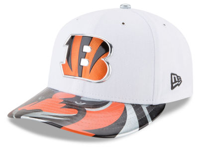 Cincinnati Bengals New Era 2017 NFL Low Profile Draft 59FIFTY Cap