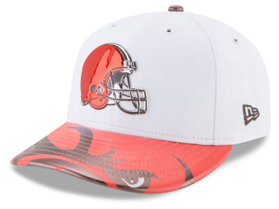 Cleveland Browns New Era 2017 NFL Low Profile Draft 59FIFTY Cap