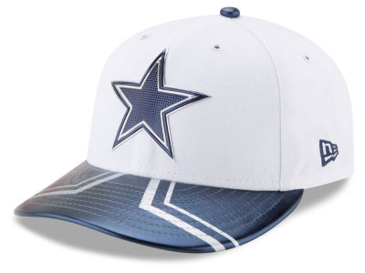 Dallas Cowboys New Era 2017 NFL Low Profile Draft 59FIFTY Cap