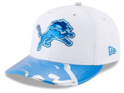 Detroit Lions New Era 2017 NFL Low Profile Draft 59FIFTY Cap