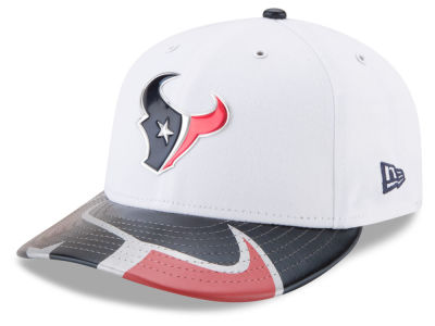 Houston Texans New Era 2017 NFL Low Profile Draft 59FIFTY Cap