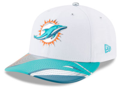 Miami Dolphins New Era 2017 NFL Low Profile Draft 59FIFTY Cap