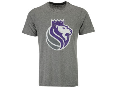 Sacramento Kings Majestic NBA Men's Triblend Alt Logo T-Shirt