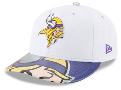 Minnesota Vikings New Era 2017 NFL Low Profile Draft 59FIFTY Cap