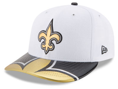 New Orleans Saints New Era 2017 NFL Low Profile Draft 59FIFTY Cap