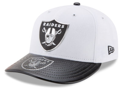 Oakland Raiders New Era 2017 NFL Low Profile Draft 59FIFTY Cap