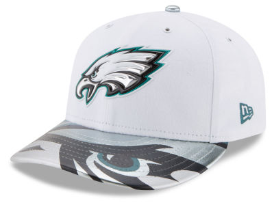 Philadelphia Eagles New Era 2017 NFL Low Profile Draft 59FIFTY Cap