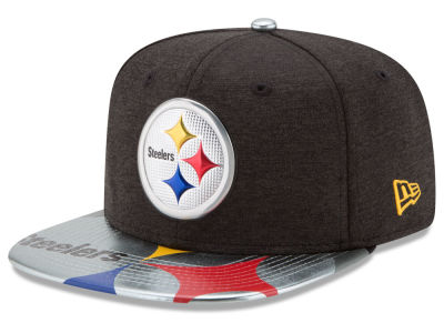 Pittsburgh Steelers New Era 2017 NFL Draft 9FIFTY Snapback Cap