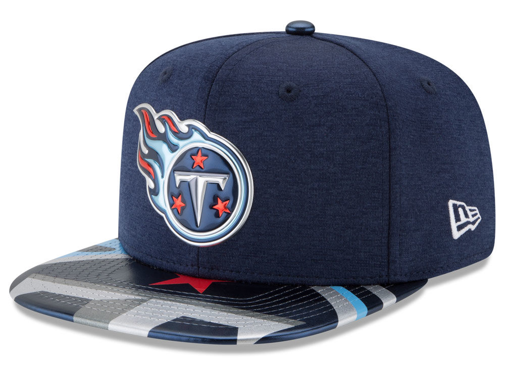 7ee16c915 Tennessee Titans New Era 2017 NFL Draft 9FIFTY Snapback Cap