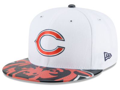 Chicago Bears New Era 2017 NFL Kids Draft 59FIFTY Cap