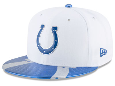 Indianapolis Colts New Era 2017 NFL Kids Draft 59FIFTY Cap