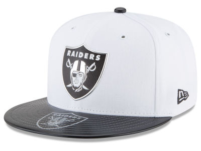 Oakland Raiders New Era 2017 NFL Kids Draft 59FIFTY Cap