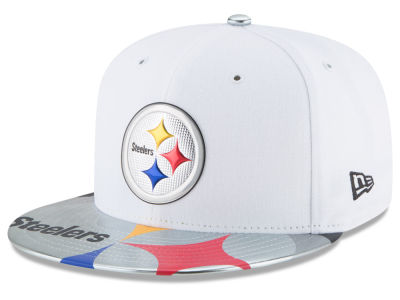 Pittsburgh Steelers New Era 2017 NFL Kids Draft 59FIFTY Cap