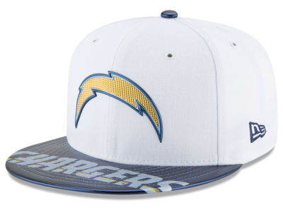 Los Angeles Chargers New Era 2017 NFL Kids Draft 59FIFTY Cap