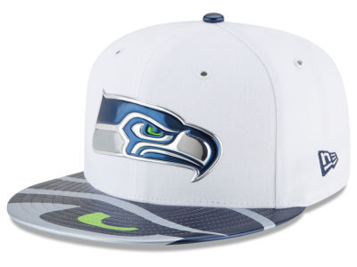 Seattle Seahawks New Era 2017 NFL Kids Draft 59FIFTY Cap