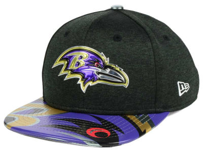 Baltimore Ravens New Era 2017 NFL Kids Draft 9FIFTY Snapback Cap