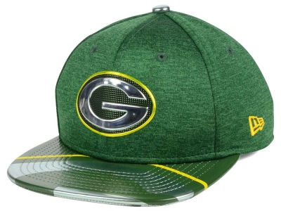 Green Bay Packers New Era 2017 NFL Kids Draft 9FIFTY Snapback Cap