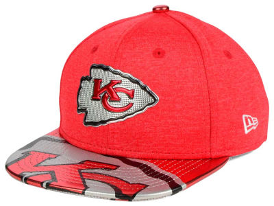 Kansas City Chiefs New Era 2017 NFL Kids Draft 9FIFTY Snapback Cap