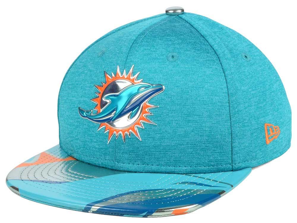 quality design fedfc f0db9 Miami Dolphins New Era 2017 NFL Kids Draft 9FIFTY Snapback Cap   lids.com
